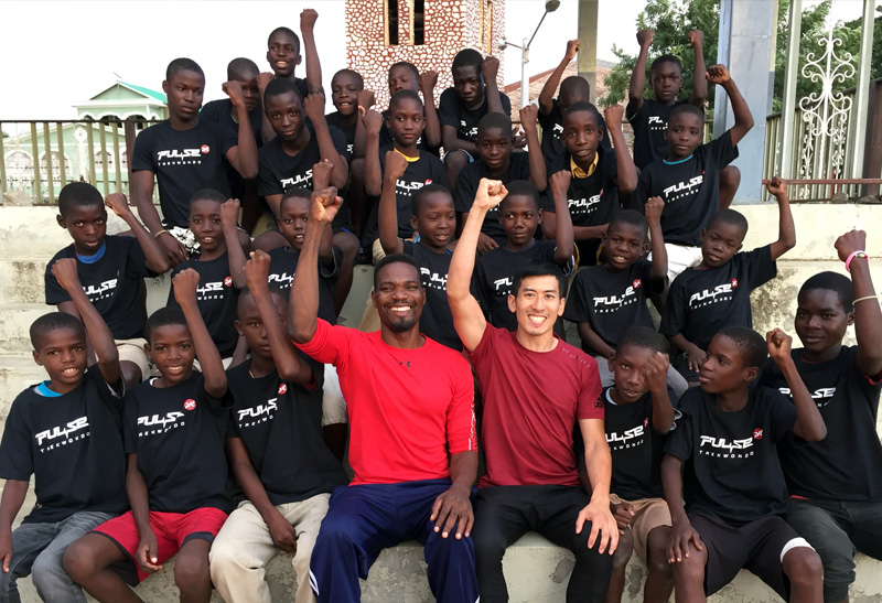 Pulse Taekwondo Haiti Project