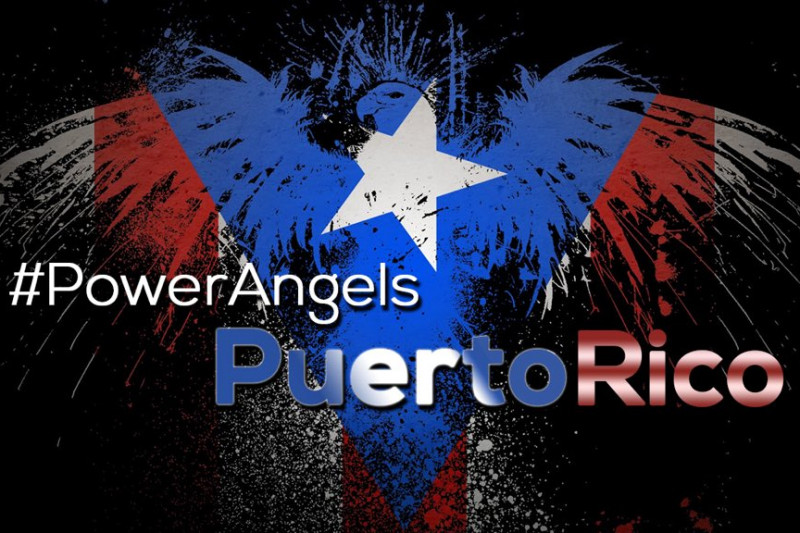 Power Angels Puerto Rico Hurricane Donation